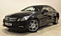 USED 2010 10 MERCEDES-BENZ E CLASS 3.0 E350 CDI BLUEEFFICIENCY SPORT 2d AUTO 231 BHP + 1 PREV OWNER  + AIR CON + AUX + BLUETOOTH