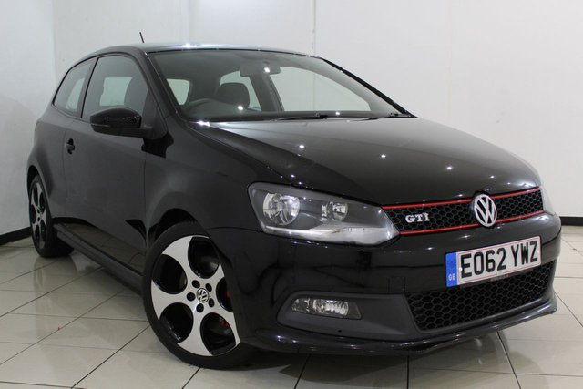 View our 2012 62 VOLKSWAGEN POLO 1.4 GTI DSG 3DR AUTOMATIC 177 BHP