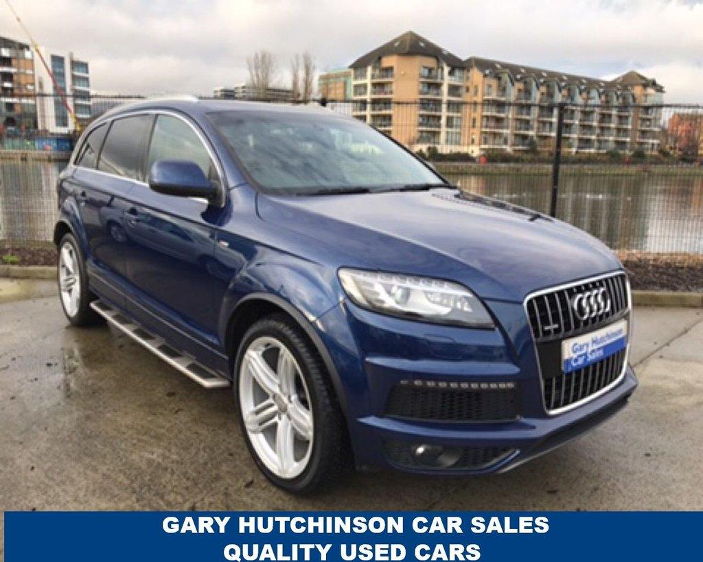 Used Audi Q Cars In Belfast From Gary Hutchinson Car Sales Ltd - Audi q7 car price