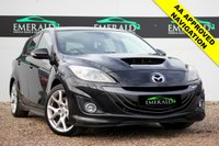 USED 2010 10 MAZDA 3 2.3 MPS 5d 260 BHP **£0 DEPOSIT FINANCE AVAILABLE**SECURE WITH A £99 FULLY REFUNDABLE DEPOSIT** FULL MAZDA SERVICE HISTORY, 1 OWNER FROM NEW, BOSE SOUND, SATELLITE NAVIGATION, 6 CD PLAYER, AUX INPUT, HALF LEATHER, HEATED FRONT SEATS, BLUETOOTH CONNECTION, KEYLESS ENTRY, ELECTRIC WINDOWS AND AIR CONDITIONING