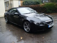 2017 BMW M6 convertible - M6 2dr SMG £21989.00