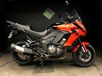 USED 2015 15 KAWASAKI KLZ VERSYS 1000 BFF. 15. FSH. 7500 MILES. ABS. TRACTION CTRL. V TIDY