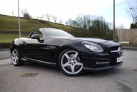 USED 2014 14 MERCEDES-BENZ SLK 2.1 SLK250 CDI BLUEEFFICIENCY AMG SPORT 2d AUTO 204 BHP ** FROM £197 PER MONTH