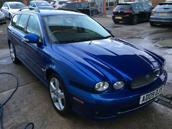 2009 JAGUAR X-TYPE 2.0 SE  Estate Manual FJSH NAV Lthr High Specification £6495.00