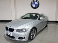 2012 BMW 3 SERIES 2.0 320D M SPORT 2d 181 BHP £SOLD