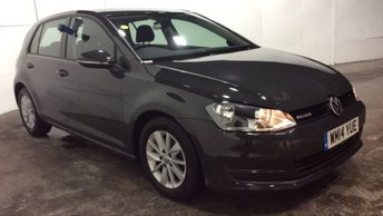 2014 VOLKSWAGEN GOLF 1.6 BLUEMOTION TDI 5dr Touchscreen Media Urano Grey £8995.00