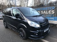 2014 FORD TRANSIT CUSTOM 2.2 270 LIMITED LR 125 BHP RS STYLING PACK AIR CON  £SOLD