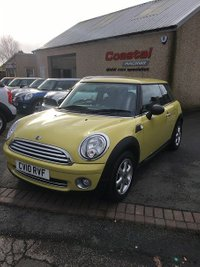 2010 MINI HATCH ONE 1.6 ONE 3d 98 BHP £4895.00