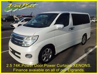 USED 2005 05 NISSAN ELGRAND Highway Star 2.5 Automatic 8 Seats Power Curtains Front and Rear Camera +2.5+POWER CURTAINS+REAR CAMERA+