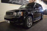 USED 2010 10 LAND ROVER RANGE ROVER SPORT 3.0 TDV6 HSE 5d AUTO 245 BHP STUNNING HUGE SPEC CAR - HSE - 5 SERVICE STAMPS TO 99K