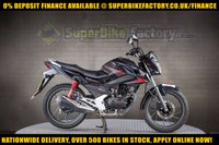 USED 2016 16 HONDA CB125 125cc F  GOOD BAD CREDIT ACCEPTED, NATIONWIDE DELIVERY,APPLY NOW