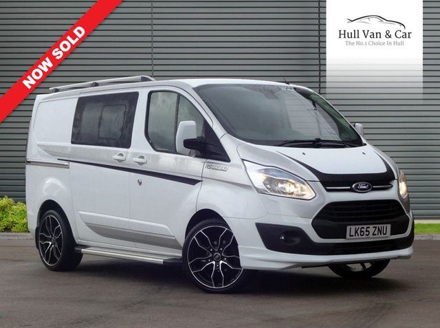 2015 65 FORD TRANSIT CUSTOM 2.2 290 LIMITED LR DCB 1d 124 BHP