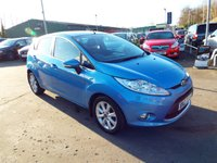 USED 2011 FORD FIESTA 1.2 ZETEC 5d 81 BHP ONE OWNER FROM NEW / SERVICE HISTORY