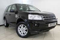 USED 2012 12 LAND ROVER FREELANDER 2.2 TD4 XS 5DR 150 BHP FULL SERVICE HISTORY + HEATED HALF LEATHER SEATS + SAT NAVIGATION + PARKING SENSOR + CRUISE CONTROL + MULTI FUNCTION WHEEL + 17 INCH ALLOY WHEELS