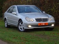 USED 2002 52 MERCEDES-BENZ C CLASS 2.0 C180 AVANTGARDE 4d AUTO 129 BHP 1 FORMER KEEPER + FSH + ONLY 37K