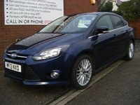 USED 2013 13 FORD FOCUS 1.0 ZETEC 5d 100 BHP **ZERO DEPOSIT FINANCE AVAILABLE** PART EXCHANGE WELCOME