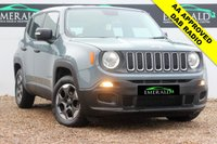 """USED 2015 65 JEEP RENEGADE 1.6 M-JET SPORT 5d 118 BHP **£0 DEPOSIT FINANCE AVAILABLE**SECURE WITH A £99 FULLY REFUNDABLE DEPOSIT** DAB RADIO, BLUETOOTH CONNECTION, ELECTRIC WINDOWS, AIR CONDITIONING, CLIMATE CONTROL, PRIVACY GLASS, 16"""" ALLOYS, FULL ARNOLD CLARK SERVICE HISTORY"""