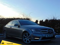 USED 2011 61 MERCEDES-BENZ C CLASS 2.1 C250 CDI BLUEEFFICIENCY AMG SPORT ED125 2d AUTO 204 BHP 128 POINT AA INSPECTED* BUY NOW PAY NOTHING FOR 6 MONTHS *