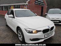 USED 2012 12 BMW 3 SERIES 2.0 320D EFFICIENTDYNAMICS 4 dr SAT NAV / BLUETOOTH / £20 TAX