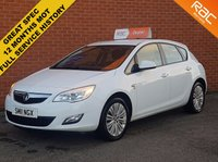2011 VAUXHALL ASTRA 1.4 EXCITE 5d  £4699.00