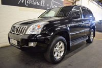 USED 2007 07 TOYOTA LAND CRUISER 3.0 D-4D LC5 8 STR 5d AUTO 171 BHP BEAUTIFUL 7 SEATER WITH TOYOTA HISTORY TO 90K