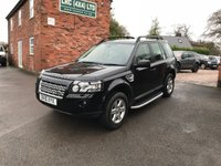 USED 2010 10 LAND ROVER FREELANDER 2.2 TD4 E GS 5d 159 BHP Comes fully serviced