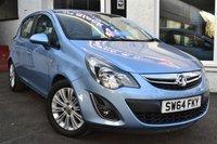 2014 VAUXHALL CORSA 1.4 SE 5d 98 BHP £SOLD