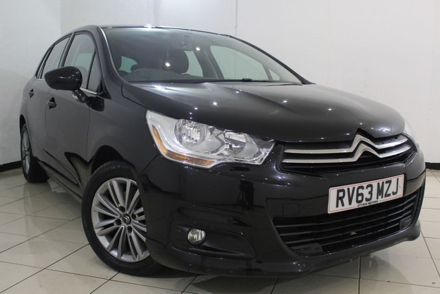 View our 2013 63 CITROEN C4 1.6 E-HDI AIRDREAM VTR PLUS 5DR 115 BHP