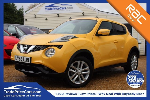 View our 2016 65 NISSAN JUKE 1.2 N-CONNECTA DIG-T 5d 115 BHP