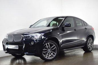 2015 BMW X4 3.0 XDRIVE30D M SPORT 4d AUTO 255 BHP £22090.00