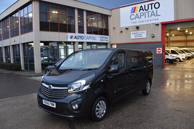 2017 66 VAUXHALL VIVARO 1.6 2900 L2H1 CDTI P/V SPORTIVE 5d 120 BHP BI TURBO LWB AIR CON DIESEL MANUAL VAN LOW MILEAGE UNDER D WARRANTY SPAKE KEY FULL S/H