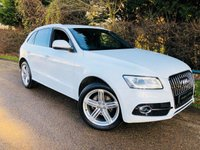 USED 2014 64 AUDI Q5 2.0 TDI QUATTRO S LINE PLUS 5d AUTO 175 BHP FSH! Immaculate Condition! Xenons, Nav, DAB, Sensors, Leather!