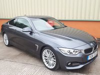 2016 BMW 4 SERIES 3.0 430D LUXURY 2d AUTO 255 BHP £SOLD