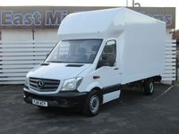 USED 2014 14 MERCEDES-BENZ SPRINTER 313 CDI LWB Hi Roof 2.1 130 BHP 2014 (14) Plate AUTOMATIC