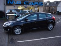 USED 2013 63 FORD FOCUS 1.6 TITANIUM 5d 148 BHP 1 OWNER FROM NEW, 41000 MILES