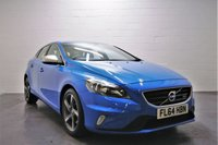 USED 2014 64 VOLVO V40 1.6 D2 R-DESIGN 5d AUTO 113 BHP 1 OWNER + FULL VOLVO SERVICE HISTORY