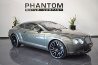2004 BENTLEY CONTINENTAL 6.0 GT 2d AUTO 550 BHP £24990.00