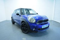 USED 2014 64 MINI PACEMAN 2.0 COOPER SD 3d 143 BHP A STUNNING EXAMPLE IN THE BEST COLOUR COMBINATION