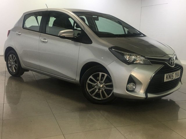 View our 2015 15 TOYOTA YARIS 1.4 D-4D ICON 5d 90 BHP