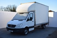USED 2012 12 MERCEDES-BENZ SPRINTER 2.1 313 CDI LWB 1d 129 BHP LUTON WITH TAIL LIFT  500KG TAIL LIFT IN VERY GOOD CONDITION