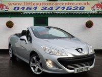 2010 PEUGEOT 308 1.6 CC ALLURE 2d 120 BHP £4990.00