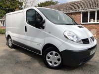 2013 RENAULT TRAFIC 2.0 SL29 DCI 115ps PANEL VAN **NO VAT** £SOLD