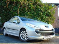 USED 2008 08 PEUGEOT 207 1.6 SPORT COUPE CABRIOLET 2d  **HARD TOP CONVERTIBLE**