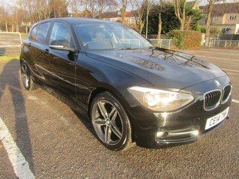 2014 BMW 1 SERIES 1.6 116I SPORT 5d 135 BHP £10491.00