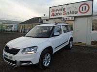 USED 2014 64 SKODA YETI 2.0 OUTDOOR S TDI CR 5d 109 BHP £47 PER WEEK OVER 5 YEARS - SEE FINANCE LINK BELOW