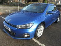 USED 2016 16 VOLKSWAGEN SCIROCCO 1.4 TSI BLUEMOTION TECHNOLOGY 2d 123 BHP