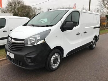 View our VAUXHALL VIVARO SWB