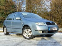 USED 2004 04 SKODA FABIA 1.9 ELEGANCE TDI 5d 99 BHP RECENT CAMBELT AND WATER PUMP CHANGE