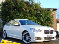 USED 2012 12 BMW 5 SERIES 3.0 530D M SPORT GRAN TURISMO 5d AUTOMATIC 128 POINT AA INSPECTED*SATELLITE NAVIGATION**