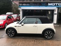 USED 2008 08 MINI CONVERTIBLE 1.6 COOPER SIDEWALK 2d AUTO 114 BHP